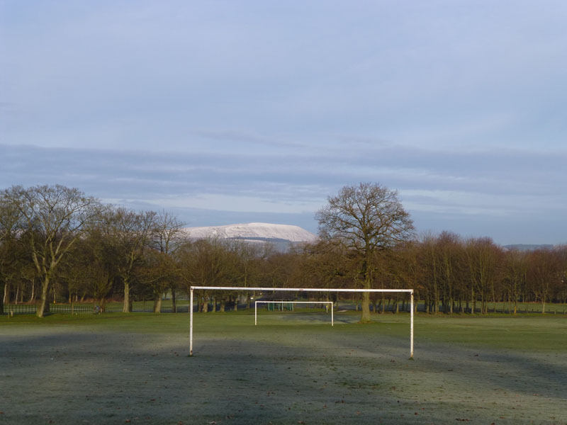 Pendle from Towneley