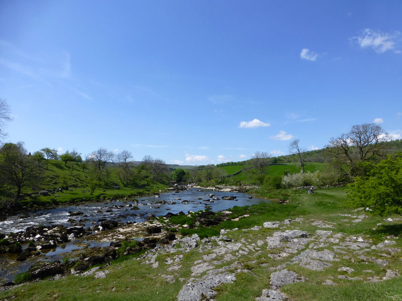 Wharfe at Grassington