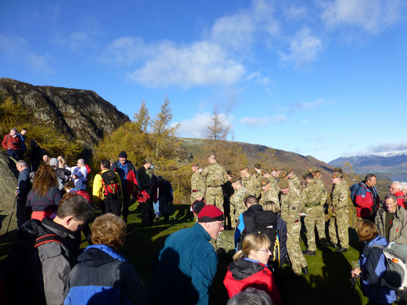 Remembrance on Castle Crag