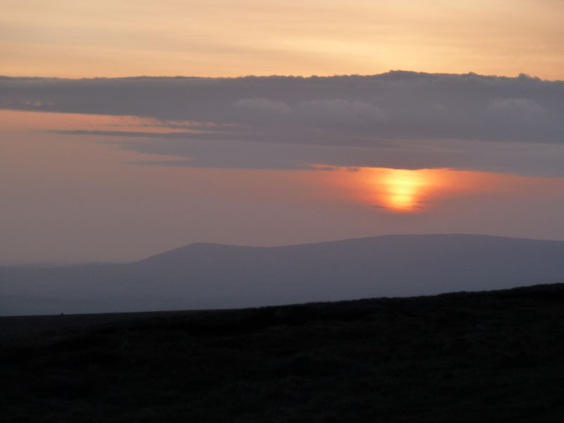Pendle Sunset