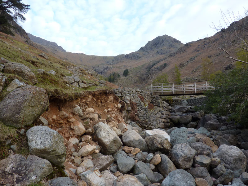 Erosion in Stickle Gill
