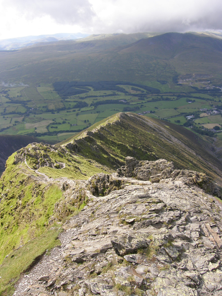 Blencathra Hall's Ridge Moutain
