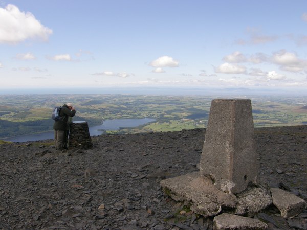 The Summit of Skiddaw