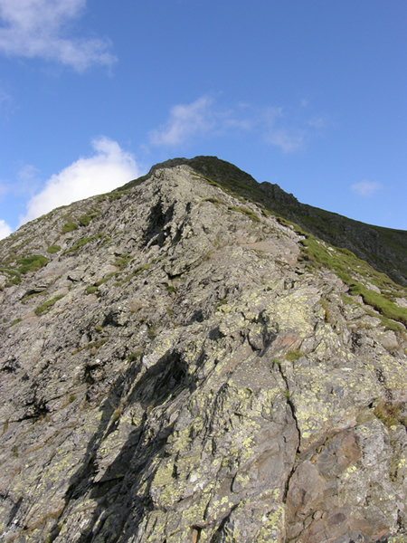 Looking Up Hall's Fell Ridge