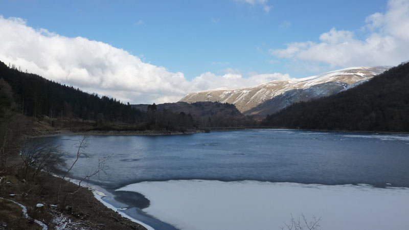 Frozen Thirlmere