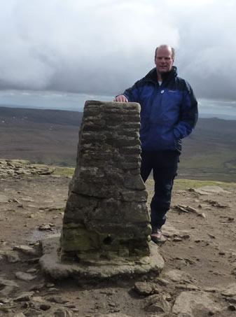Me on top of Pen-Y-Ghent