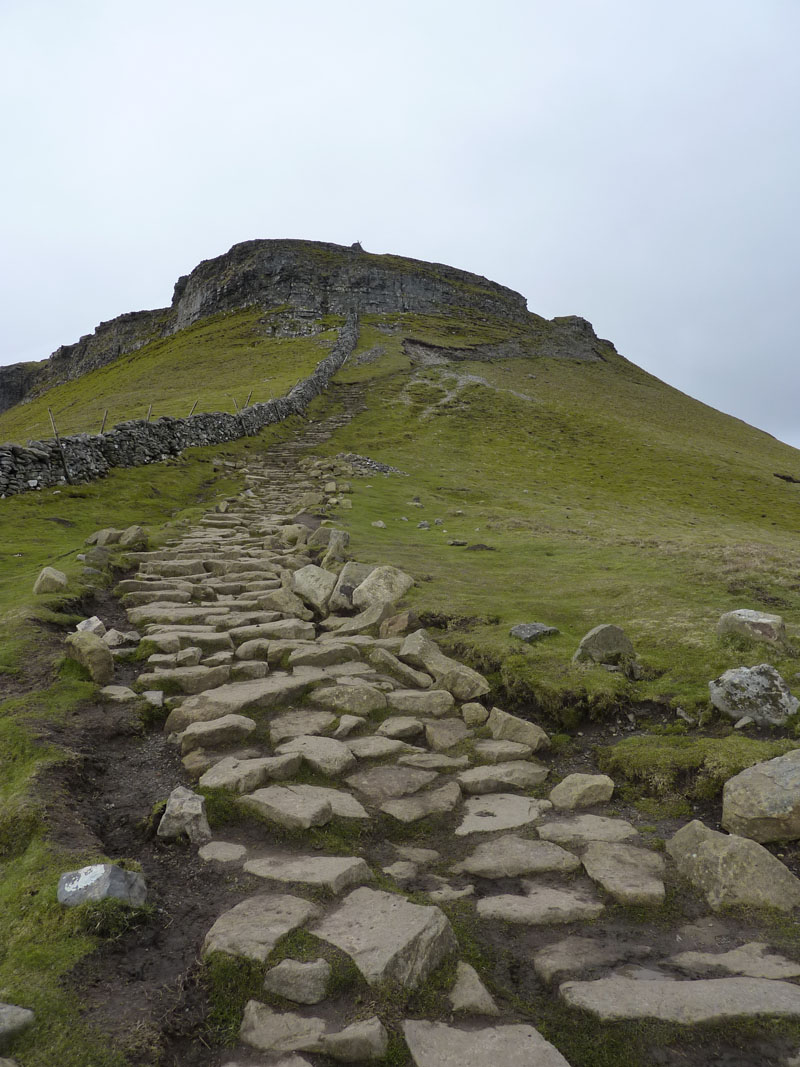 Pen-Y-Ghent Steps