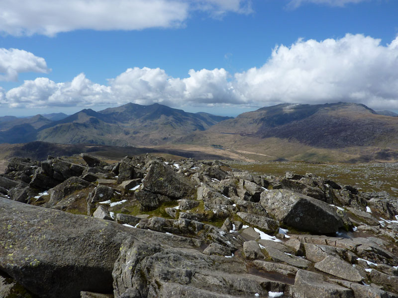 Snowdon and the Glyders
