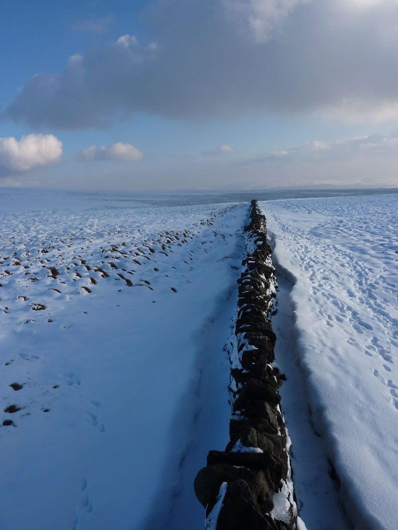 The Wall on Pendle Hill